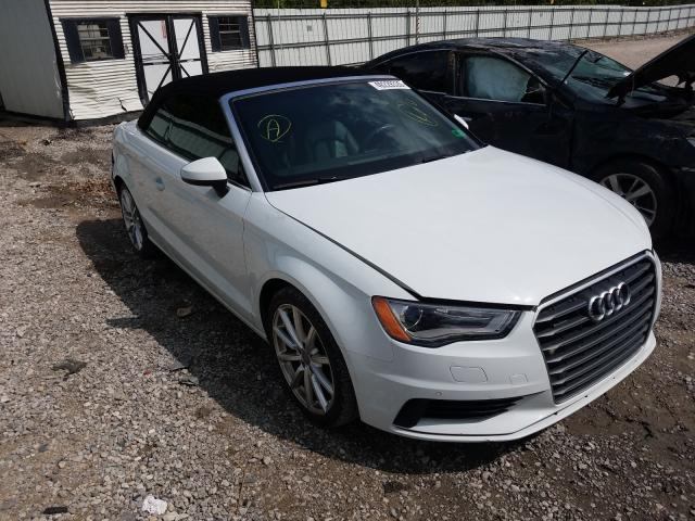 Salvage cars for sale from Copart Hurricane, WV: 2015 Audi A3
