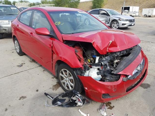 Salvage cars for sale from Copart Littleton, CO: 2014 Hyundai Accent GLS