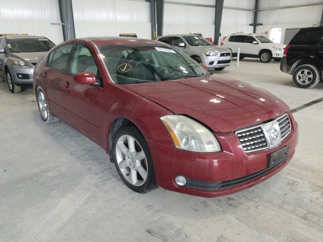 Salvage cars for sale from Copart Greenwood, NE: 2004 Nissan Maxima SE