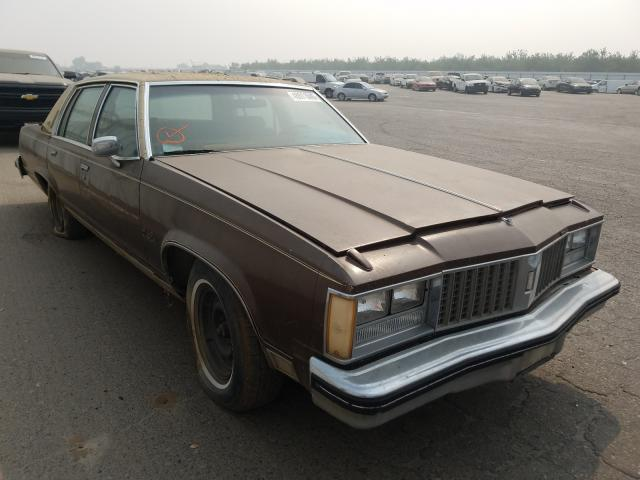 Oldsmobile salvage cars for sale: 1979 Oldsmobile Regency