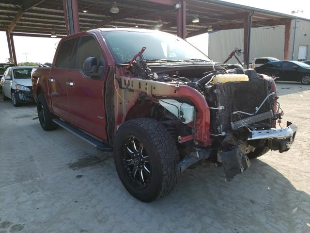 Salvage cars for sale from Copart Wilmer, TX: 2016 Ford F150 Super