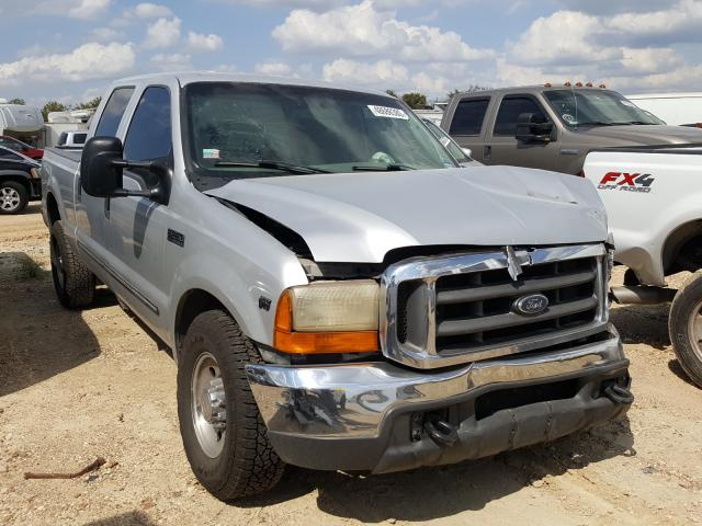 Salvage cars for sale from Copart San Antonio, TX: 2000 Ford F250 Super
