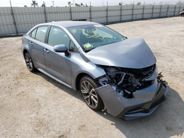 Salvage cars for sale from Copart Van Nuys, CA: 2020 Toyota Corolla SE