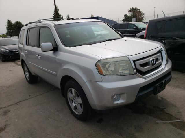 Honda Pilot EX salvage cars for sale: 2010 Honda Pilot EX