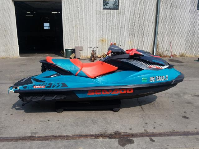 Seadoo salvage cars for sale: 2019 Seadoo Wake 155
