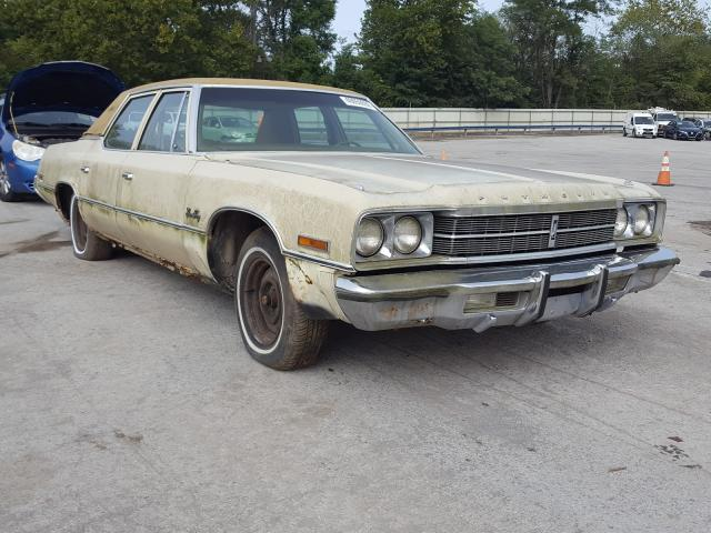 Plymouth salvage cars for sale: 1975 Plymouth Gran Fury