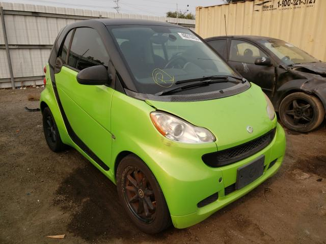 Smart Fortwo salvage cars for sale: 2009 Smart Fortwo