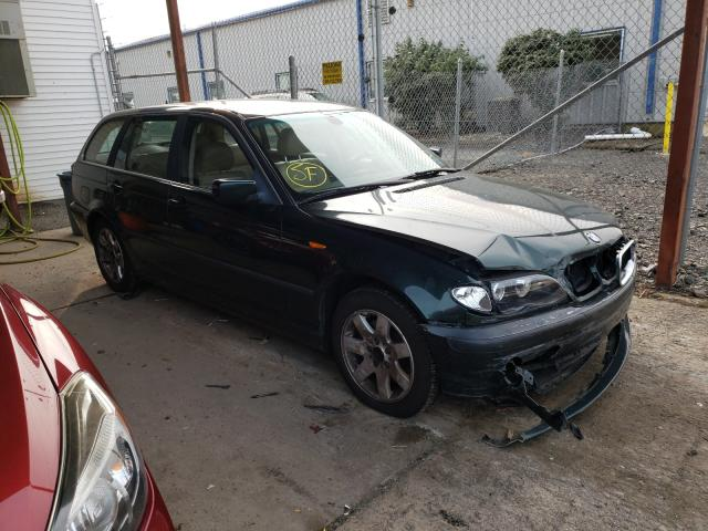 BMW 325 XIT salvage cars for sale: 2003 BMW 325 XIT