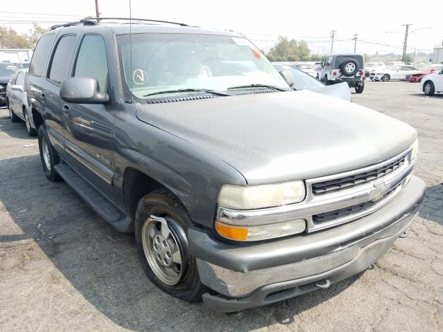 Chevrolet Tahoe C150 salvage cars for sale: 2001 Chevrolet Tahoe C150