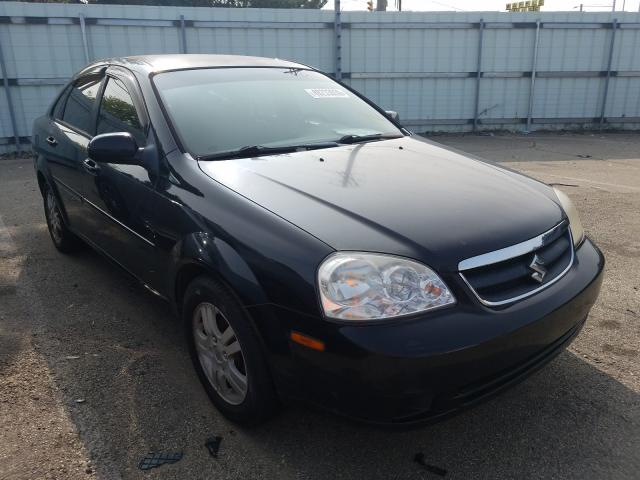 Suzuki Forenza BA salvage cars for sale: 2007 Suzuki Forenza BA
