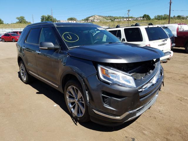 Ford Explorer L Vehiculos salvage en venta: 2018 Ford Explorer L