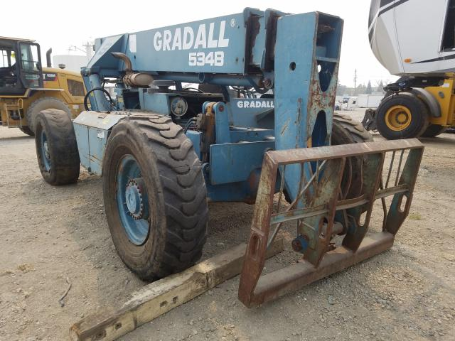 Gradall salvage cars for sale: 1994 Gradall Tellehandl