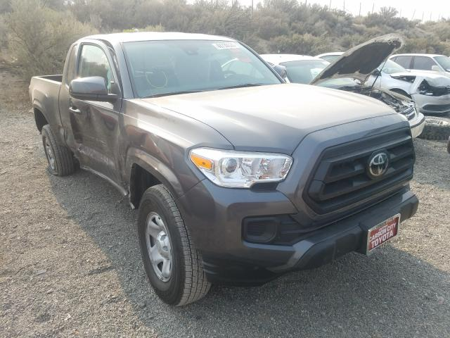 Salvage cars for sale from Copart Reno, NV: 2020 Toyota Tacoma ACC