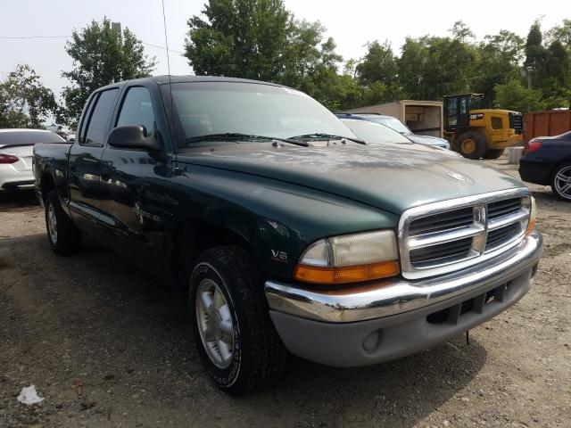 Dodge Dakota salvage cars for sale: 2000 Dodge Dakota