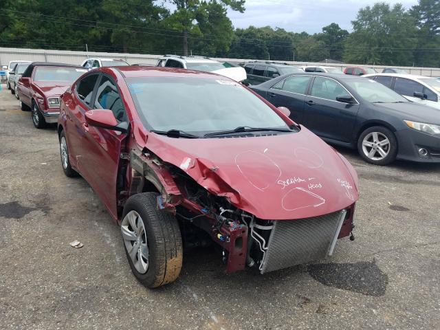 Salvage cars for sale from Copart Eight Mile, AL: 2016 Hyundai Elantra SE