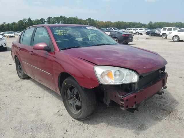 Salvage cars for sale from Copart Houston, TX: 2006 Chevrolet Malibu LT