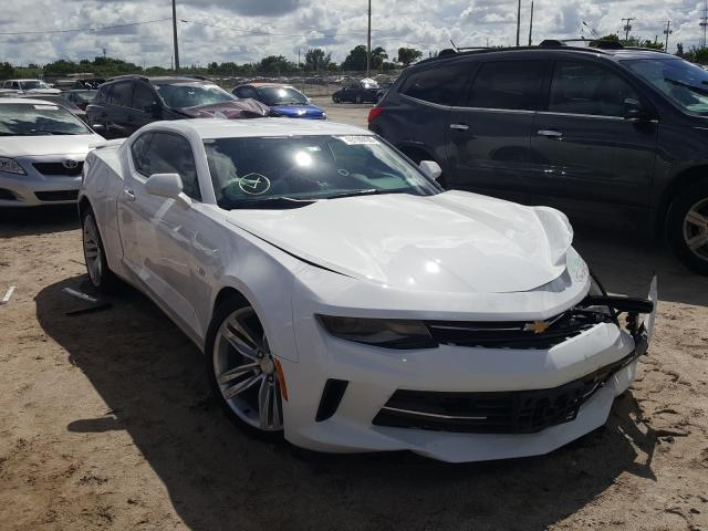 Salvage cars for sale at West Palm Beach, FL auction: 2018 Chevrolet Camaro LS