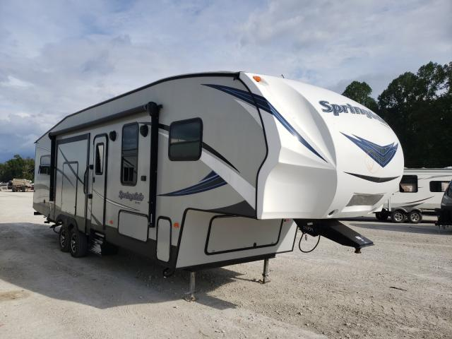 Keystone Travel Trailer salvage cars for sale: 2018 Keystone Travel Trailer