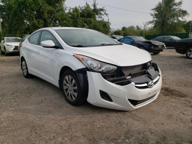 Salvage cars for sale from Copart Baltimore, MD: 2013 Hyundai Elantra GL