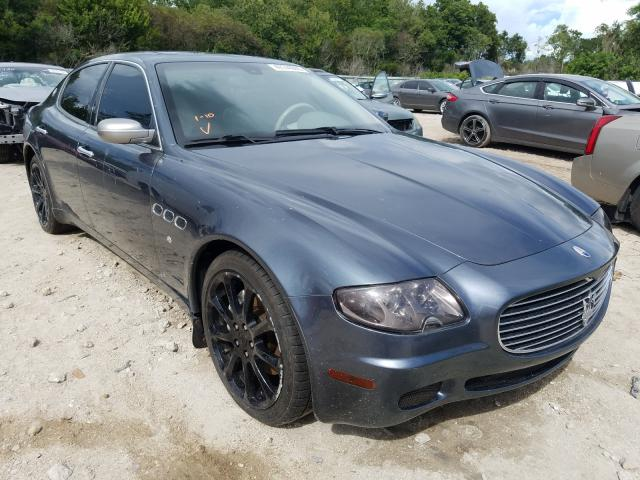 Maserati salvage cars for sale: 2005 Maserati Quattropor