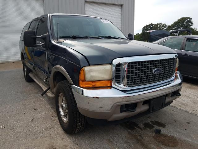 Salvage cars for sale from Copart Rogersville, MO: 2000 Ford Excursion
