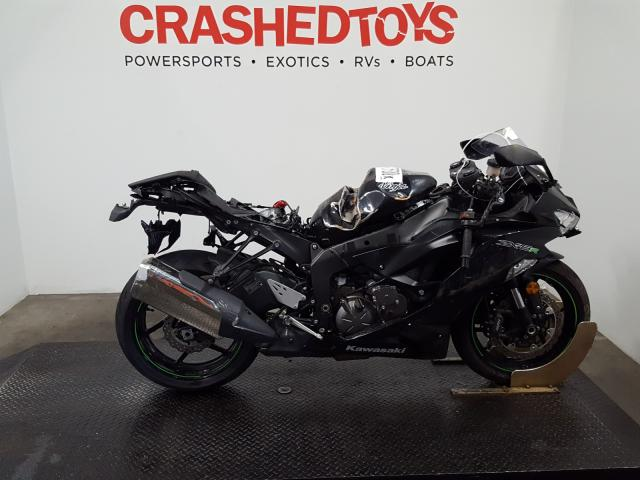 Salvage motorcycles for sale at Austell, GA auction: 2019 Kawasaki ZX636 K