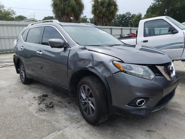 Salvage cars for sale from Copart Punta Gorda, FL: 2016 Nissan Rogue S