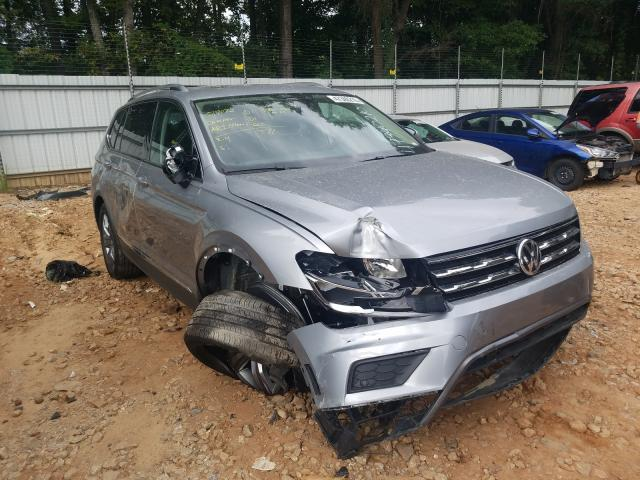 Volkswagen salvage cars for sale: 2020 Volkswagen Tiguan SE