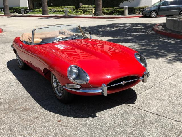 Jaguar salvage cars for sale: 1965 Jaguar XKE