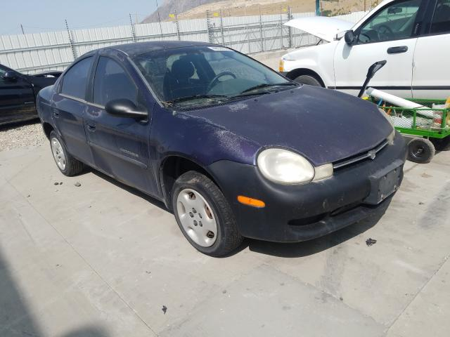 Dodge Neon salvage cars for sale: 2000 Dodge Neon