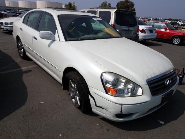 Infiniti salvage cars for sale: 2005 Infiniti Q45