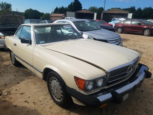 Salvage 1986 Mercedes-Benz 560 SL for sale