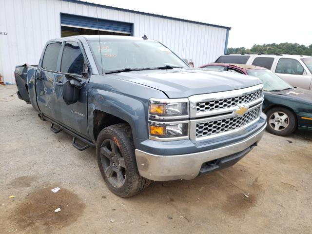 Salvage trucks for sale at Shreveport, LA auction: 2014 Chevrolet Silverado