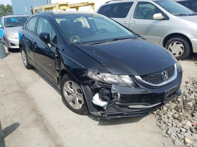 Salvage cars for sale at Windsor, NJ auction: 2014 Honda Civic LX