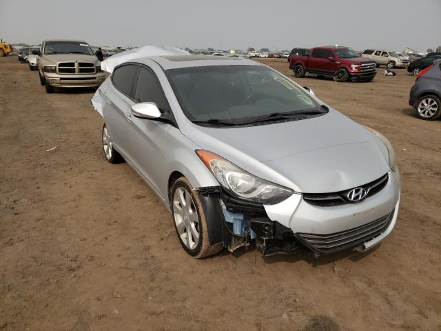 Salvage cars for sale from Copart Brighton, CO: 2013 Hyundai Elantra GL