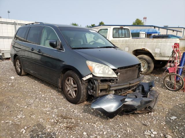 Salvage cars for sale from Copart Finksburg, MD: 2006 Honda Odyssey