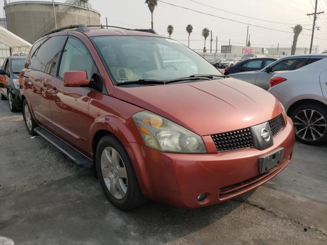 Salvage cars for sale from Copart Wilmington, CA: 2004 Nissan Quest S