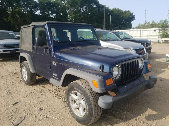 Jeep salvage cars for sale: 2005 Jeep Wrangler X