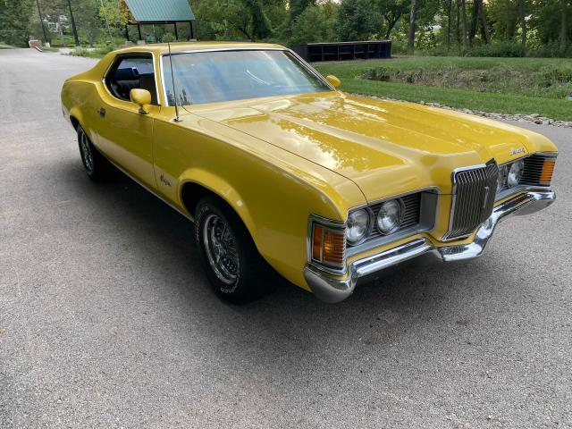 Mercury salvage cars for sale: 1971 Mercury Cougar