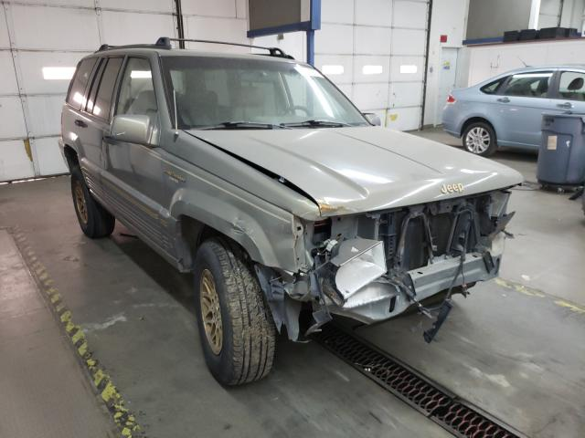 Jeep Grand Cherokee salvage cars for sale: 1995 Jeep Grand Cherokee
