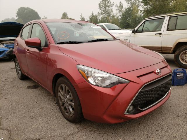 Salvage 2020 Toyota YARIS LE for sale