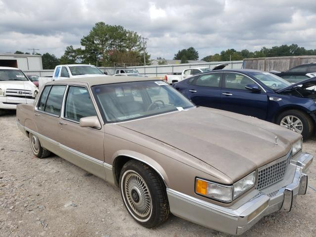 Salvage cars for sale from Copart Florence, MS: 1989 Cadillac Fleetwood