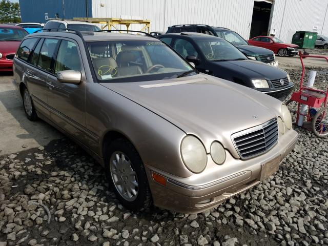 Mercedes-Benz E 320 4matic salvage cars for sale: 2001 Mercedes-Benz E 320 4matic