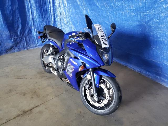 Salvage cars for sale from Copart Finksburg, MD: 2014 Honda CBR650 F
