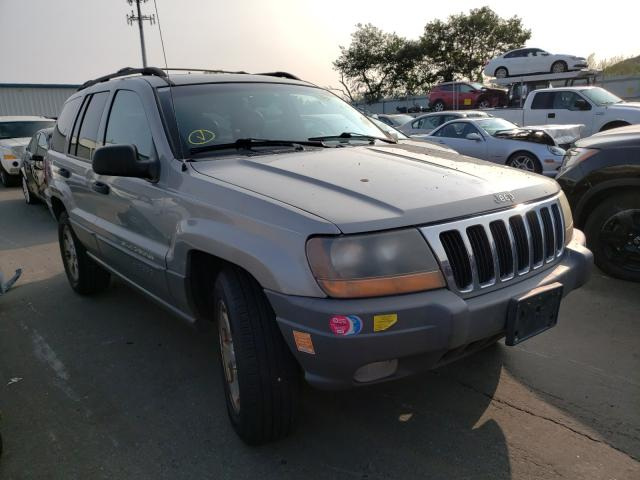 Jeep salvage cars for sale: 2001 Jeep Grand Cherokee