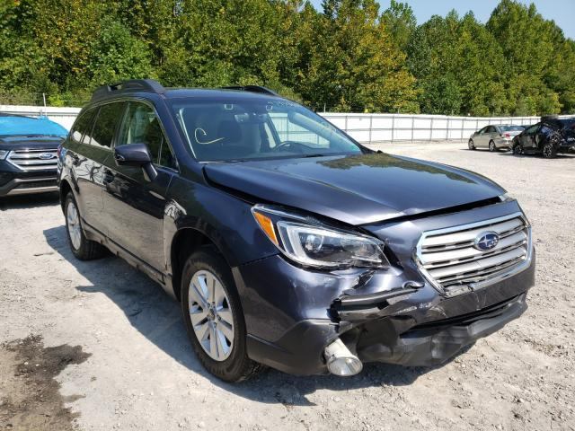 Salvage cars for sale from Copart Hurricane, WV: 2017 Subaru Outback 2
