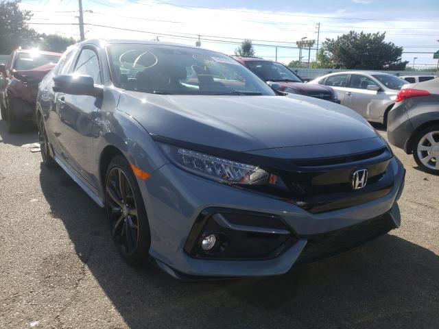 Salvage cars for sale from Copart Moraine, OH: 2020 Honda Civic Sport