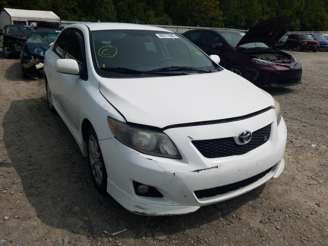 Salvage cars for sale from Copart Hurricane, WV: 2009 Toyota Corolla BA
