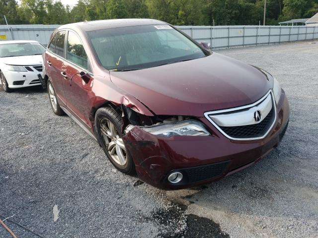Salvage cars for sale from Copart York Haven, PA: 2015 Acura RDX Techno