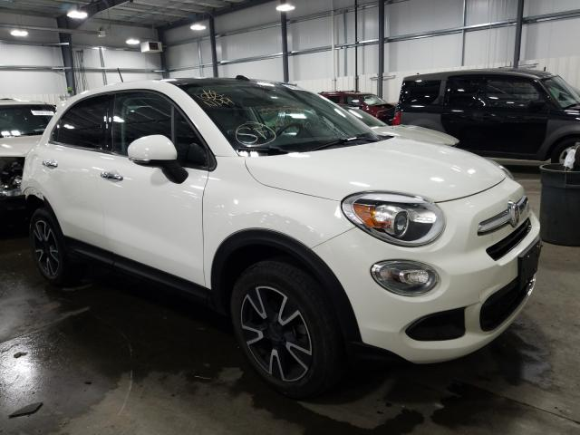 Salvage 2016 Fiat 500X EASY for sale